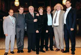 Among the Jury Members of ARD competition in 2011(Frits Damrow, Urban Agnas, Thierry Caens, Rod Franks, Reinhold Friedrich and Gabor Boldoczky)