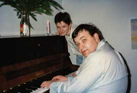 With the pianist Alexander Markovich