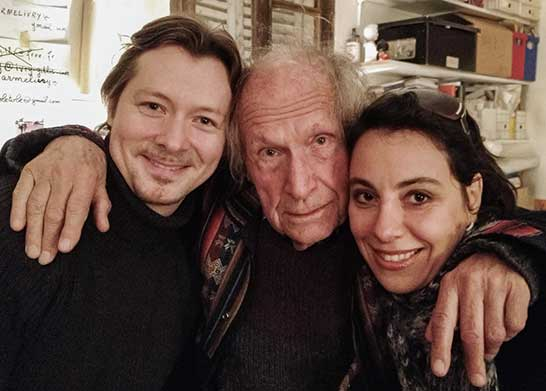 With Ivry Gitlis and Maria Meerovitch